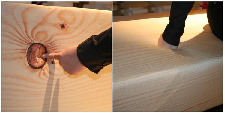 canap en bois trompe l 39 oeil soft wood sofa. Black Bedroom Furniture Sets. Home Design Ideas