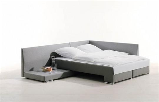 Canapé design convertible en lit