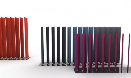 Cloison acoustique design mobile