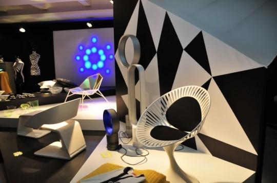 Espace Hypnotic - chaises design sixties