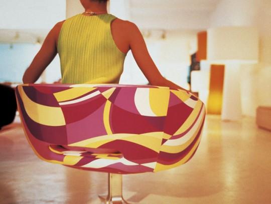 Fauteuil Cappellini RIve droite - design Patrick Norguet