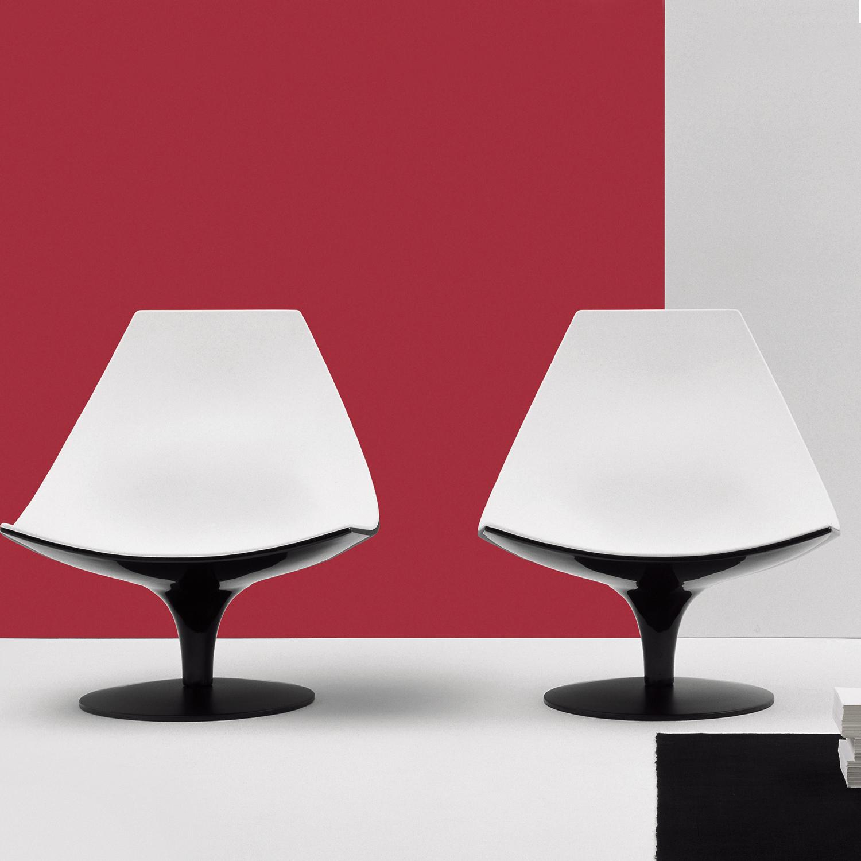 Fauteuil design minimaliste moon for Design minimaliste