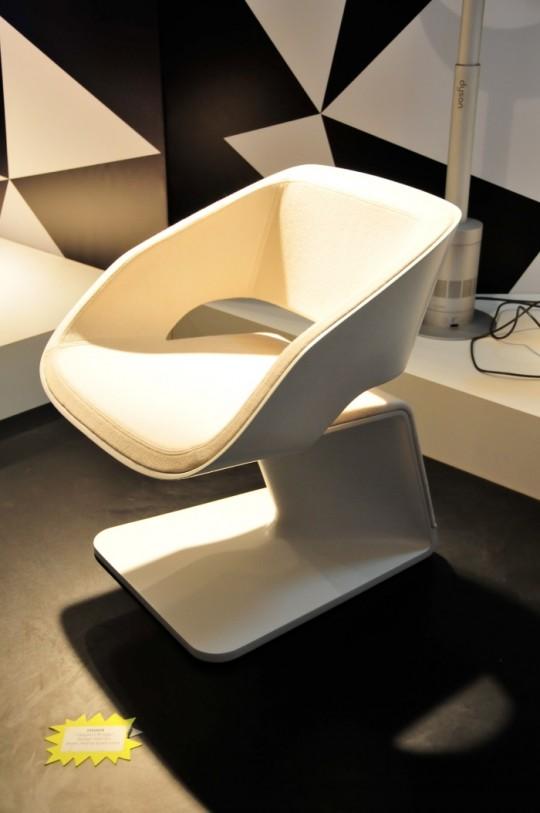 Fauteuil Origami bridge par Ora Ito pour Steiner