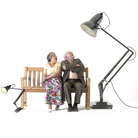 Lampadaire lampe de bureau géante Giant 1227 Anglepoise