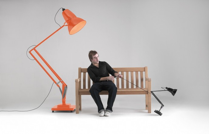 Lampe architecte g ante anglepoise giant 1227 - Lampe architecte geante ...