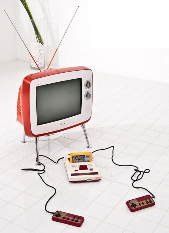 LG rétro TV vintage