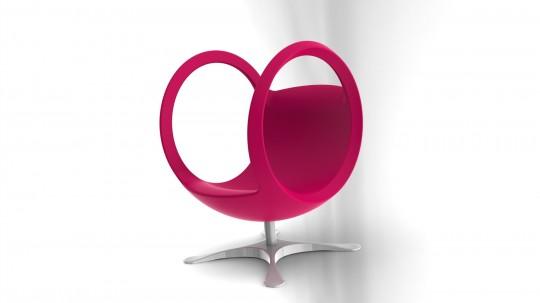 Fauteuil boule design Outerspace