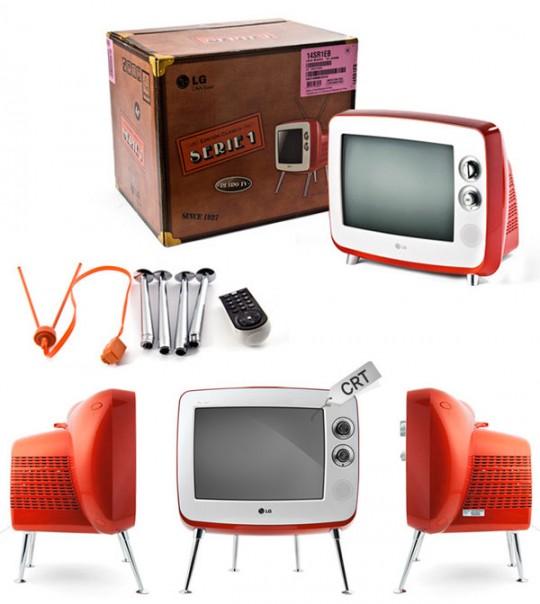 Pack TV rétro LG série 1