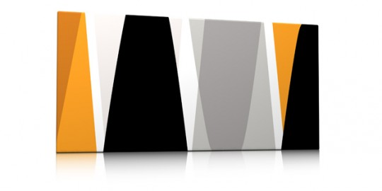 Tableau abstrait sixties - Yabbok Qora