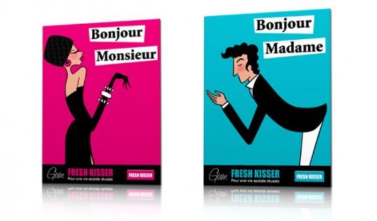 Tableau Bonjour Madame - Qora and Shai 2011