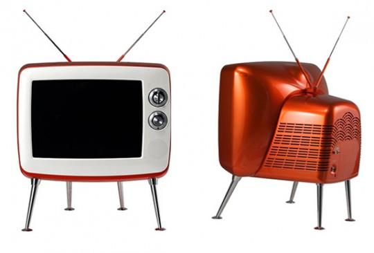 Téléviseur design vintage LG série 1
