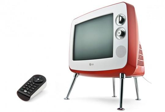Téléviseur vintage LG retro TV