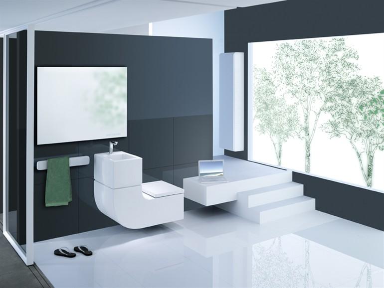 Roca w w lavabo et wc suspendu design for Rocas design