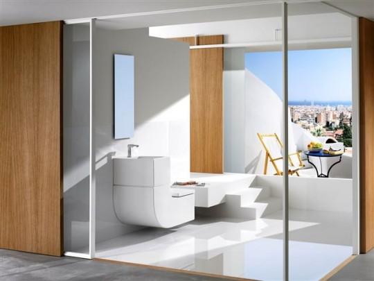 Roca W+W lavabo et WC 2 en 1