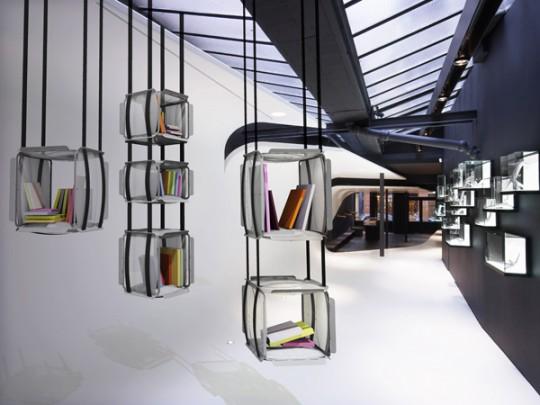 Bibliothèque suspendue Upside Down