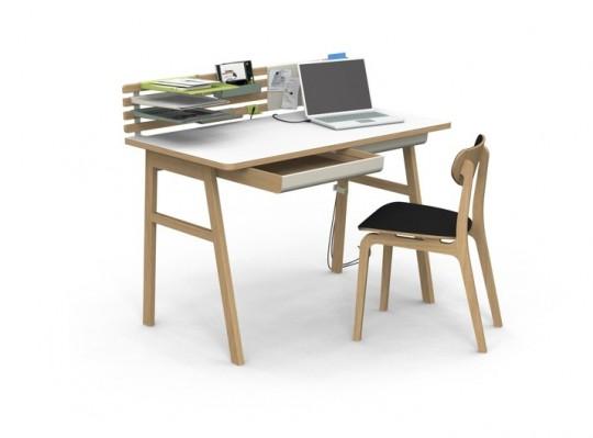 Bureau organisé - design Jun Yasumoto