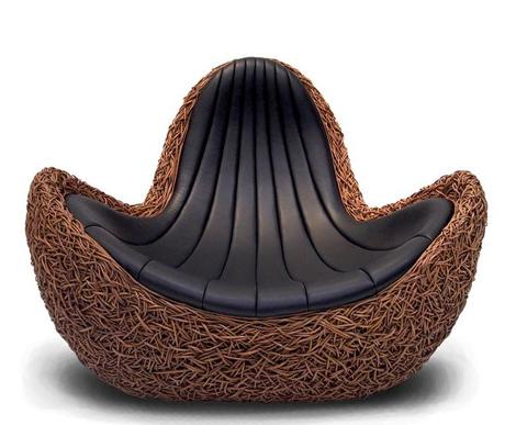 Meubles design outdoor en bois exotique Koji