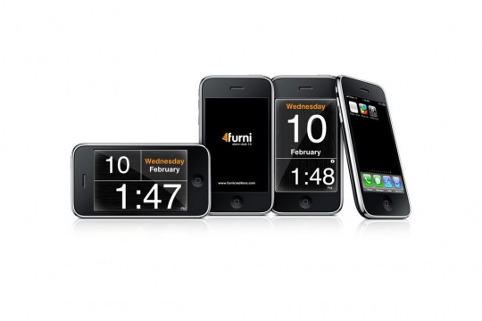 Furni application radio-réveil pour iPhone