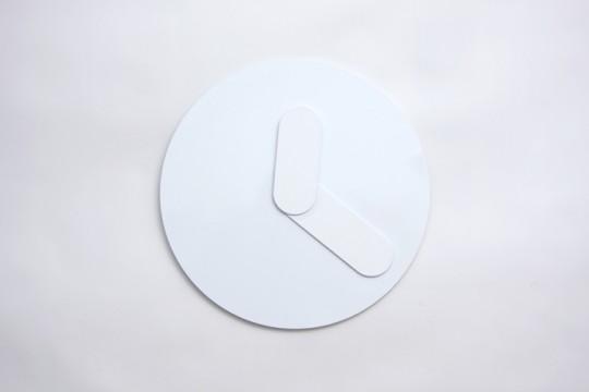 Horloge design blanche Bold Clock