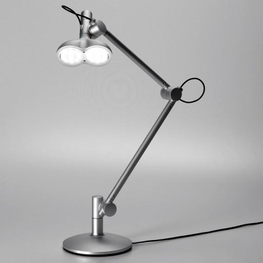 Lampe de bureau double ampoule à LED