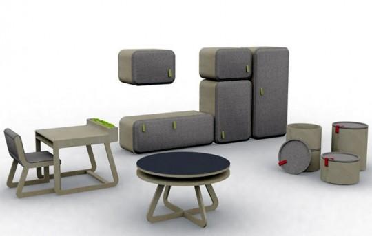 Mobilier design pour enfant Playtime