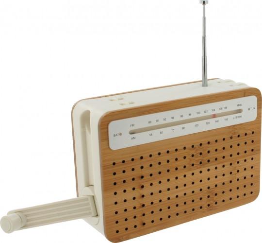 Radio rechargeable avec une manivelle Safe radio Lexon