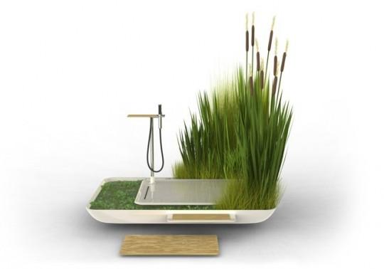 Salle de bain Phyto purification par Jun Yasumoto