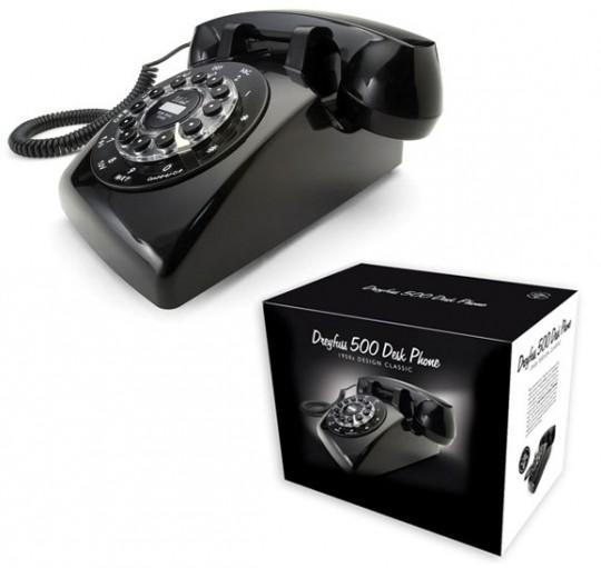 Téléphone rétro Dreyfuss 500 dans sa boite d'origine