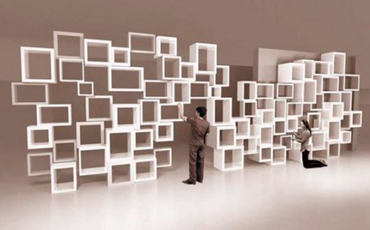 Bibliothèque modulaire à l'infini Parametric