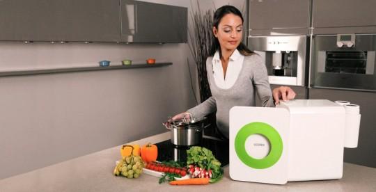 Bio-station de cuisine Loofen - recyclage des déchets