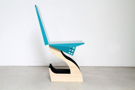 Chaise design - Justin Lamont