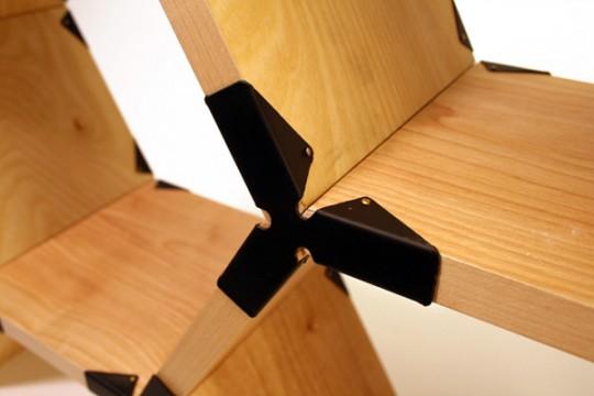 Etagères modulaires Hexa Shelf