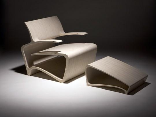Fauteuil Koura easy chair par Karim Rashid