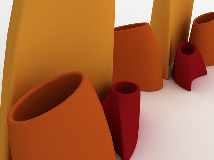 Pots de fleurs design feng-shui Myyour Tao | Rosaria Copeta