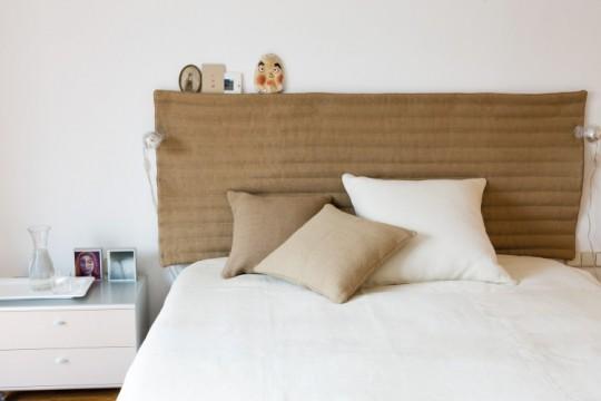 Tête de lit beige Testa Bauma Nanimarquina