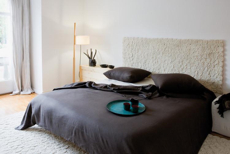 T te de lit ivoire nanimarquina testa spiral for Tete de lit confortable