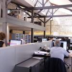 Agence architectes dans des bureaux esprit loft