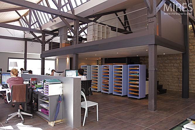 Agence architecte bureau for Agence loft paris
