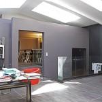 Agence architecte - intérieur gris anthracite du loft