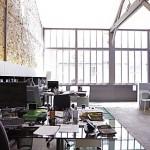 Agence architecte dans un loft à Paris