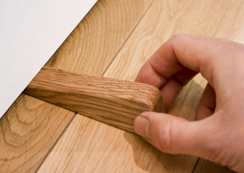 bloque porte en bois