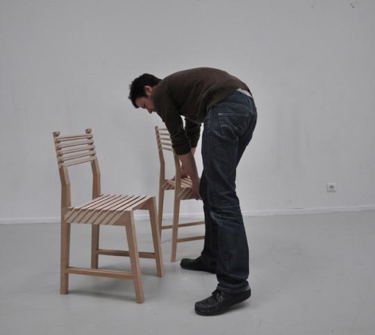 Chaise 3 en 1 Triplette chair