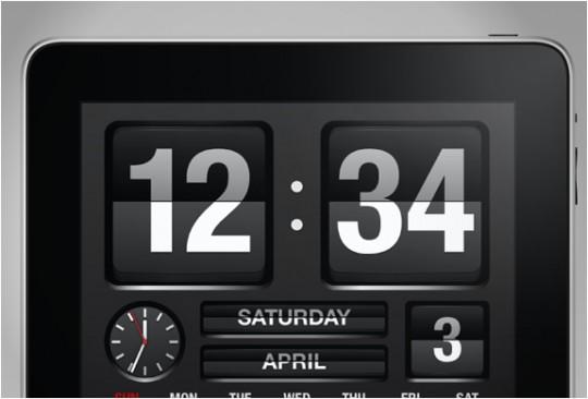 Fliptime XL - calendrier pour iPad