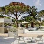 Hotel Sezz St-Tropez - terrasse avec piscine