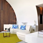 Hotel Sezz St-Tropez - salon design
