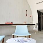 Hotel Sezz St-Tropez - fauteuil bleu