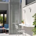 Hotel Sezz St-Tropez - terrasse ensoleillée