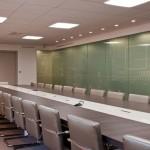 Salle de réunion dans les bureaux des Pages Jaunes