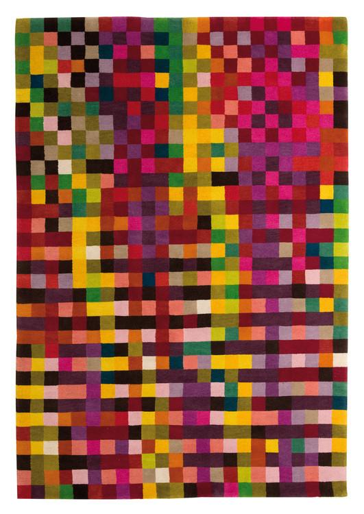 Tapis à damier en couleur Digit - Nanimarquina