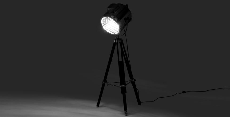 lampadaire projecteur gallery of lampe projecteur studio. Black Bedroom Furniture Sets. Home Design Ideas